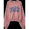 'Peace' sweatshirt Pull&Bear - Pullover -