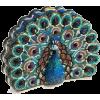 Peacock clutch - Сумки c застежкой -