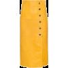 Pencil Leather Skirt - Skiim - Skirts -