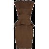 Peplum dress - Dresses -