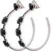 Permanent Collection  MIU MIU Black Crys - Earrings -