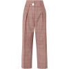 Petar Petrov Checked Wool mohair pants - Pantaloni capri -