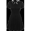 Peter Pan Collar Dress - Dresses - $18.99