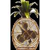 Pineapple Figurine Fan Nordstrom - Möbel -