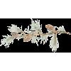 Pine cones on pine branch digital vector - Illustrations -