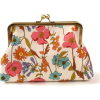 Pink & Turquoise Daisy Clutch - Clutch bags -