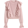 Pink Frill Jumper  - Jerseys -
