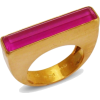 Pink Baguette Ring - Anelli -