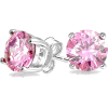 Pink Birthstone Earrings - Aretes -