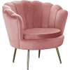 Pink. Chair - Furniture -