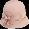Pink Flapper Bucket Hat - Cap -