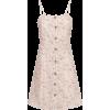 Pink Floral Dress - Dresses -