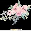 Pink Flowers - Ilustracje -