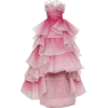 Pink Gown - Dresses -