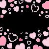 Pink Hearts Wallpaper - Fundos -
