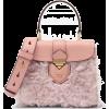 Pink. Peach. Bag - Hand bag -