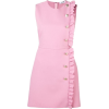 Pink Ruffle Dress - Dresses -