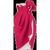 Pink Ruffle Top Skirt - Saias -