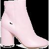 Pink. - ブーツ -