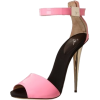 Pink and Black Heels - Classic shoes & Pumps -