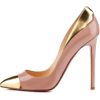 Pink and Gold Shoes - Sapatos clássicos -