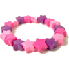 Pink and Purple Star Bracelet - Bracelets -