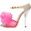 Pink and Tan  Heels - Classic shoes & Pumps -
