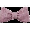 Pink bow tie (The tie bar) - Tie -