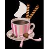 Pink coffee cup - Beverage -