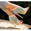 Pink mint sandal - Uncategorized -