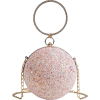 Pink spherical clutch bag - Carteras tipo sobre -