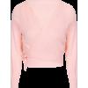 Pink wrap top crossover ballerina - Cardigan -