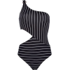 Pinstripe Swimsuit - Anderes -