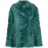 Pippa Shearling Peacoat - Jacket - coats -