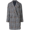 Plaid Coat - Kurtka -