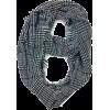 Plaid Print Infinity Scarf - Scarf -