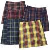 Plaid Skirt High Waist Side Split Hip Skirt - Suknje - $25.99  ~ 165,10kn