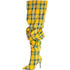 Plaid boots - Stivali -