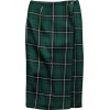 Plaid lap skirt - Skirts -