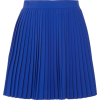 Pleated crepe mini skirt - Suknje -