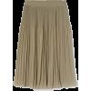Pleated SKirt - Skirts -