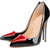 Pointed Toe Slip-On Stiletto Shoes - Classic shoes & Pumps -
