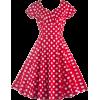 Pokidot dress - Dresses -
