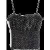Polka Dot Print Elastic Slim Drawstring - Koszule - krótkie - $25.99  ~ 22.32€