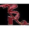 Pomegranate Sandals - Sandalias -