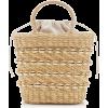 Poolside Embellished Straw Top-Handle Ba - Kleine Taschen -
