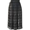 PortsPURE wrap printed pleated skirt - スカート -