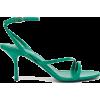 Prada Ankle-strap Patent Heeled Sandals - Sandale -