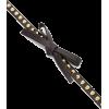 Prada Bow Studded Leather Belt - Belt -