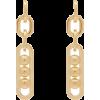 Prada Chain-link Drop Earrings - Earrings -